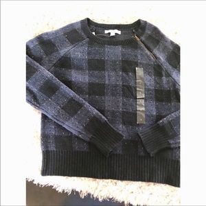 NWT Banana Republic Plaid Sweater Small
